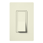 Lutron SC-3PSH-BI Claro Satin 15A 3-Way Switch in Biscuit