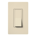 Lutron SC-3PSH-ES Claro Satin 15A 3-Way Switch in Eggshell