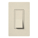 Lutron SC-3PSH-LS Claro Satin 15A 3-Way Switch in Limestone