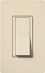 Lutron SC-3PSNL-ES Claro Satin 15A 3-Way Switch with Locator Light in Eggshell