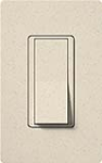 Lutron SC-4PSNL-LS Claro Satin 15A 4-Way Switch with Locator Light in Limestone