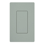 Lutron SC-BI-BG Satin Color Blank Insert in Bluestone