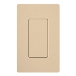 Lutron SC-BI-DS Satin Color Blank Insert in Desert Stone