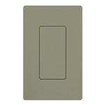Lutron SC-BI-GB Satin Color Blank Insert in Greenbriar