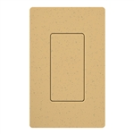 Lutron SC-BI-GS Satin Color Blank Insert in Goldstone