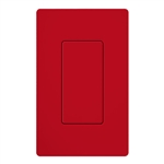 Lutron SC-BI-HT Satin Color Blank Insert in Hot
