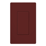 Lutron SC-BI-MR Satin Color Blank Insert in Merlot