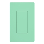Lutron SC-BI-SG Satin Color Blank Insert in Sea Glass