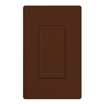 Lutron SC-BI-SI Satin Color Blank Insert in Sienna