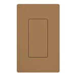 Lutron SC-BI-TC Satin Color Blank Insert in Terracotta
