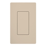 Lutron SC-BI-TP Satin Color Blank Insert in Taupe