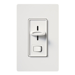 Lutron SELV-300PH-WH Skylark 300W Electronic Low Voltage Single Pole Preset Dimmer in White