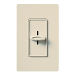 Lutron SFSQ-F-HO-LA Skylark 120V / 2.0A 3-Speed Single Pole Fan Control for Hunter Original Series Fan in Light Almond