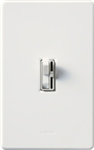 Lutron-TG-600PH-WH (AY-600P-WH) Toggler / Ariadni 600W Incandescent / Halogen Single Pole Preset Dimmer in White