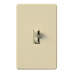 Lutron TGCL-153PH-IV (AYCL-153P-IV) Toggler 600W Incandescent, 150W CFL or LED Single Pole / 3-Way Dimmer in Ivory