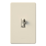 Lutron TGCL-153PH-LA (AYCL-153P-LA) Toggler 600W Incandescent, 150W CFL or LED Single Pole / 3-Way Dimmer in Light Almond
