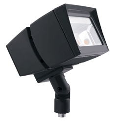 RAB FFLED39 39W Arm Mount LED Floodlight, No Photocell, 5000K (Cool), 4596 Lumens, 65 CRI, 7H x 6V Beam Distribution, Standard Operation, Bronze Finish