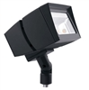 RAB FFLED39/PC2 39W Arm Mount LED Floodlight, 277V Button Photocell, 5000K (Cool), 4596 Lumens, 65 CRI, 7H x 6V Beam Distribution, Standard Operation, Bronze Finish