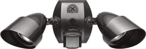 Rab Sqb2a Dual Flood Light Kit With Mini Motion Sensor Bronze