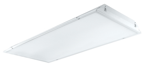 RAB TRLED2X4-37N/D10 37W 2' x 4' LED Troffer, 4000K Color Temperature(Neutral), on