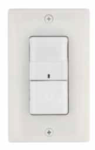 Square D Schneider Electric SLSPWS1277UW Wall Switch Occupancy Sensor 120/277 VAC Wall Switch Occupancy Sensor with Single-Circuit Passive Infrared (PIR) White Color