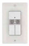Square D Schneider Electric SLSUWD1277UB Wall Switch Occupancy Sensor 120/277 VAC Wall Switch Occupancy Sensor with Dual-Circuit Ultrasonic Black Color