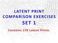 Latent Print Comparison Exercises - Set 1 (Contains 170 Latents)