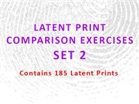 Latent Print Comparison Exercises - Set 2 (Contains 185 Latents)