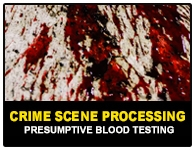 SPRING 2022 - CS Processing - Presumptive Blood Testing - 22600PBT
