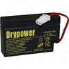 Drypower 12V 0.8Ah Sealed Lead Acid Battery (Replaces PS1208 Century)