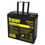 Drypower 12V 24Ah Sealed Lead Acid CYCLIC AGM