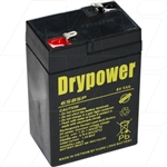 Drypower 6V 5Ah Sealed Lead Acid Battery  (Replaces PS640 Century)