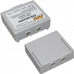 Battery for Hetronic, Komatsu Crane Remote Control Transmitters