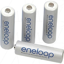 Panasonic  Eneloop (Formerly Sanyo HR-3UTGA-Bulk )  AA bulk - Price is per cell