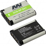 Battery suit DSC-HX90  replaces Sony NP-BX1