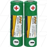 Replacement battery suitable for Welch Allyn 72500.