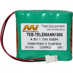 Battery for Telemann Digital TV Level Meter 1500 Series