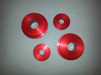 Battle Version MKIV Supra/ SC300 Rear Subframe Spacers (Front)