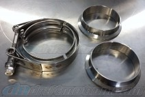 V-Band Exhaust Flange Kit 3 inch