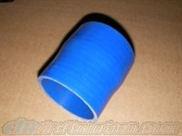 Reducer 2 inch to 2.5 inch Silicone in Blue or Black