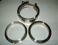 V-Band Exhaust Flange Kit 3.5 inch