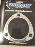 Vibrant 3in 3-Hole Exhaust Gasket