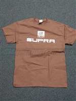 Oldschool Supra Logo Shirt, Brown