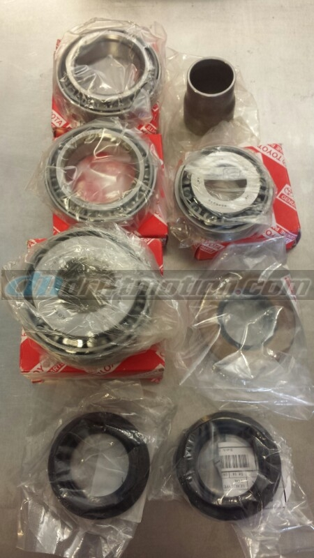 Mk3 Supra Differential Rebuild Kit