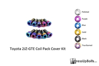 MK4 Supra 2JZ-GTE Coil Pack Cover Dress Up Bolt Kit