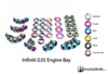 Infiniti G35 Coupe and Sedan Engine Bay Dress Up Bolt Kit