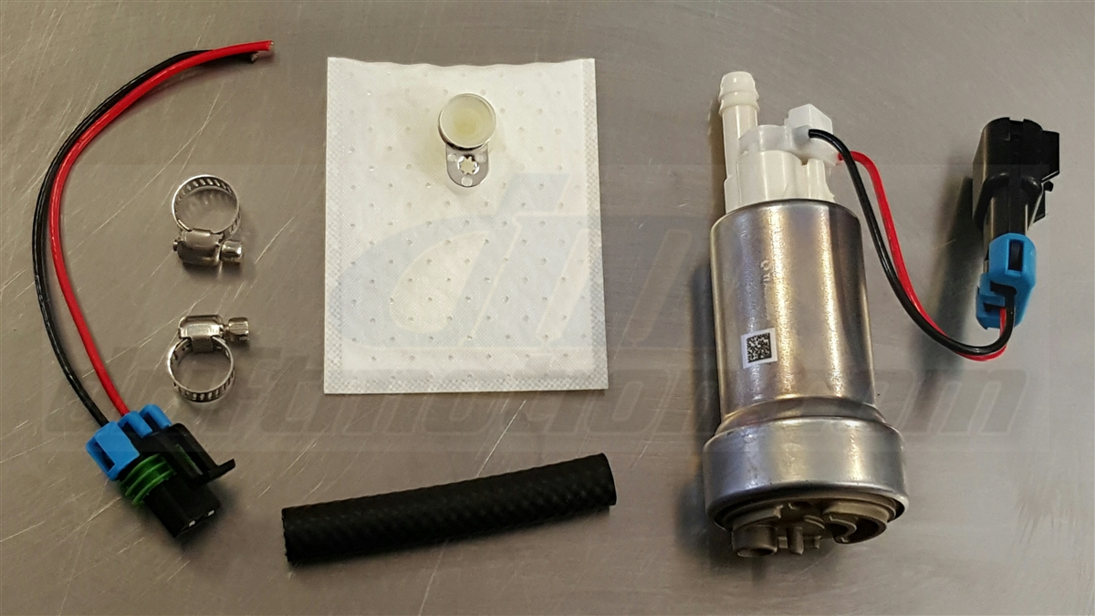 Walbro E85 Rated 450lph High Pressure In Tank Fuel Pump Install Kit Larger Photo