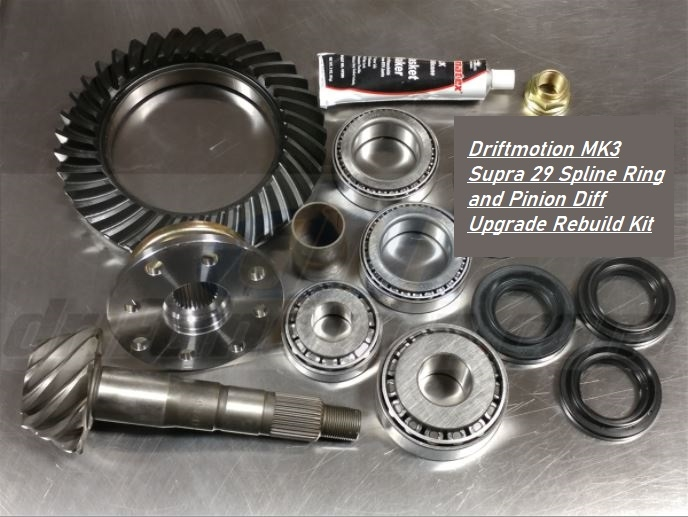 DM MK3 Supra 29 Spline Ring and Pinion Diff Upgrade/Rebuild Kit