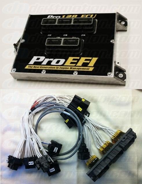 ProEfi 128 ECU With 2JZGTE Supra Patch Harness