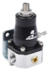Aeromotive 13129 Fuel Pressure Regulator, Black/Silver